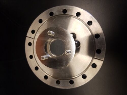 """Microchannel plate mount, 25mm MCP, Conflat 6"""" flange"""