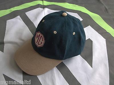 mg midget baseball caps hat tf cap blue beige brand new