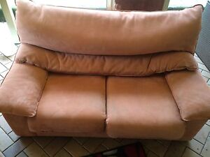Free Suede Two Seater Lounge Hornsby Hornsby Area Preview