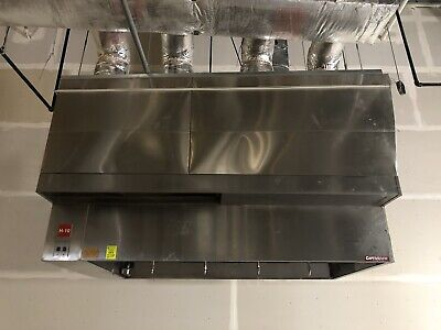 8ft. Type 1 Captive Aire Commercial Restaurant Kitchen Hood-exhaust Blowermu