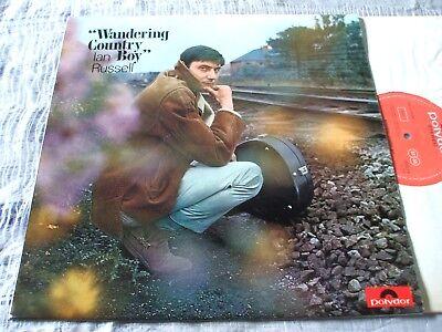 Ian Russell Wandering Country Boy RARE ORIG U.K. 1968 Polydor Folk LP EX/EX+