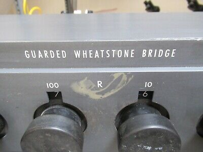 Leeds Northrup Guarded Wheatstone Bridge 4232-b Resistance As Pictured Tc-4