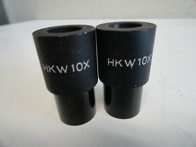 Ss8 Pair Hkw10x Vet Doctor Microscope Eyepiece Ocular