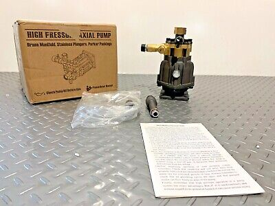 3wa-3025 High Pressure Washer Axial Pump 2.5 Gpm 4000 Psi Z-19