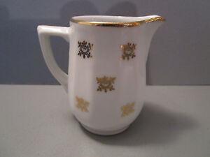 beau petit pot a lait ancien en porcelaine ebay. Black Bedroom Furniture Sets. Home Design Ideas