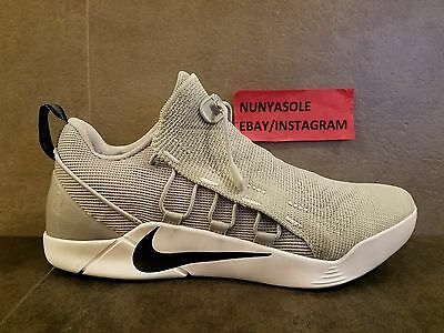 Nike Mens Kobe Bryant A.D. NXT Mamba Grey Basketball Shoes (882049 002) Sz: 9