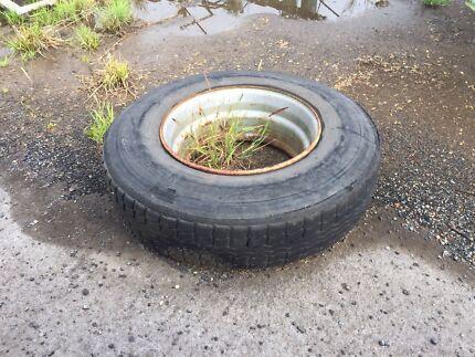 Tyre rim  West Ballina Ballina Area Preview