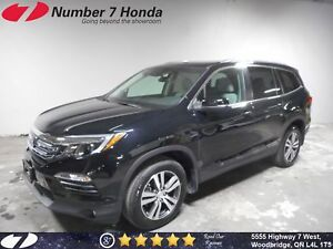 2016 Honda Pilot EX-L| Leather, Backup Cam, DVD!