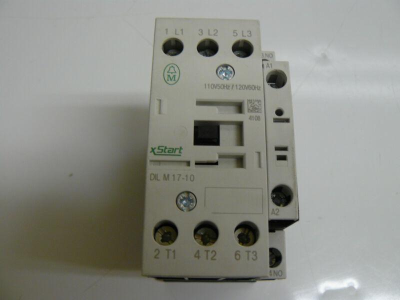MOELLER ELECTRIC DILM17-10 XSTART CONTACTOR 40AMP 3POLE 250VDC