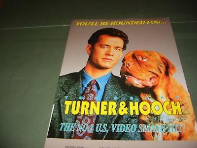 Tom Hanks Turner & Hooch 1990 UK Publicity