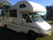 MOTORHOME  AUTO 6 BERTH . FACTORY BUILT MERCEDES Engadine Sutherland Area Preview