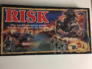 Limited 1993 edition of Risk board game - $15