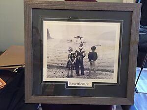 Resettlement framed print