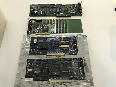 Macintosh Nubus Card Lot: 2x Lapis Video Cards, IX Micro, Cabletron Ethernet
