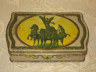 Rare Antique Collectable Cadbury's Gift Box Tin - 1914 - 1918