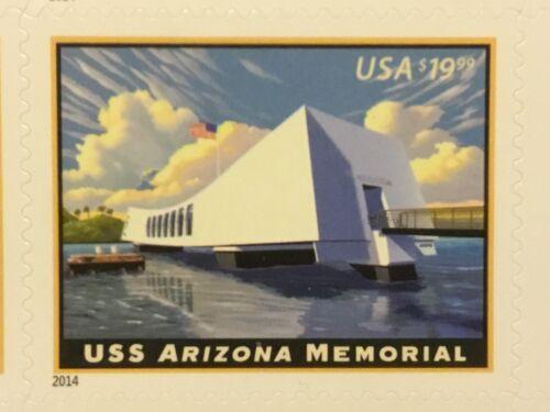 US 4873 $19.95 USS ARIZONA MEMORIAL single MNH