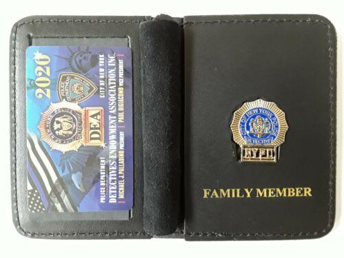 1 AUTHENTIC 2020 DEA CARD W/ LEATHER FAMILY MEMBER WALLET NOT PBA  CEA  LBA SBA