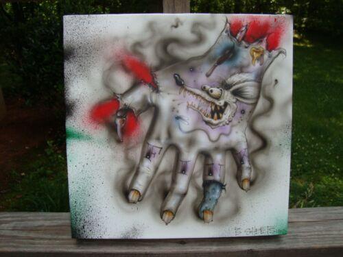 """HAND JOB"" ORIGINAL ART BY JASON JANES (3 SHEETS) RAT FINK ED BIG DADDY ROTH"