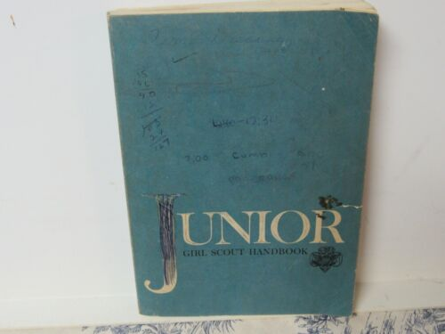 Vtg. 1966 Junior Girl Scout Handbook