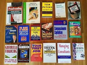 Assorted Books Business Finance Money Wealth Jobs Work Financing Allawah Kogarah Area Preview