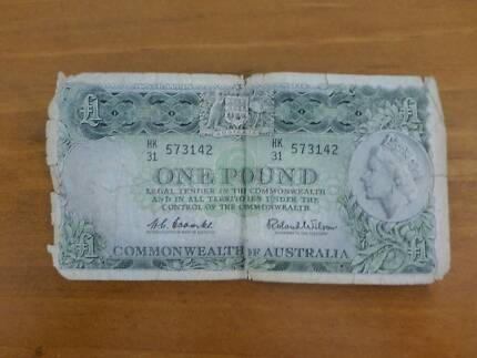 Australian One Pound Note