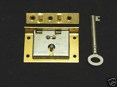 Half Mortise Brass Lock With Key