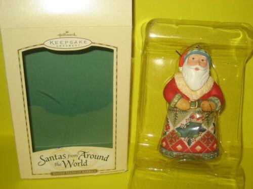 2004 Hallmark United States of America Santas from Around the World SDB w/ Price