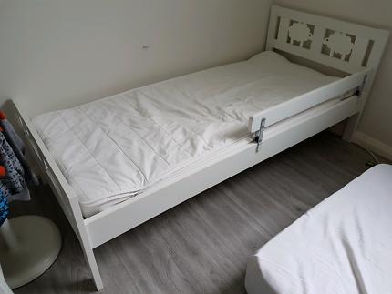 mattress 70 x 160. ikea kritter toddler kids bed + mattress (x2) mattress 70 x 160