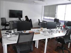 Private office for 5 in Art Gallery style Co-working space