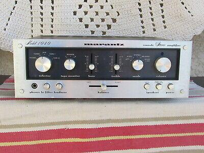 Marantz 1040 (1030 similiar) amplifier for sale  Shipping to Nigeria