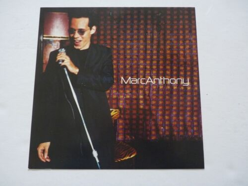 Marc Anthony 1999 Promo LP Record Photo Flat 12x12 Poster