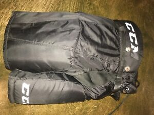 CCM hockey pants junior small Bauer vapor gloves 10""