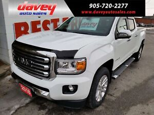 2018 GMC Canyon SLT 4X4, CREW CAB, NAVIGATION