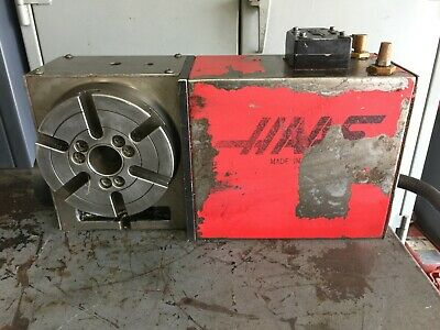 Haas 4th Axis Cnc Rotary Table 6 17 Pin Hrt 6