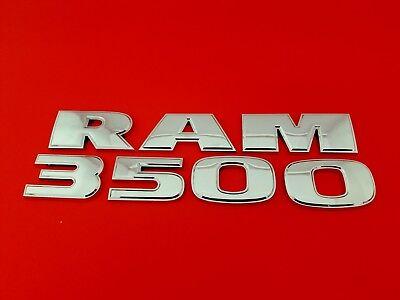 09 10 11 12 13 14 15 16 DODGE RAM 3500 SIDE DOOR EMBLEM LOGO BADGE SET OEM 2012