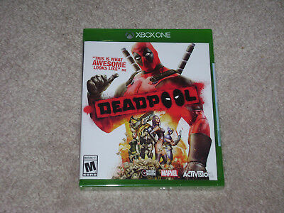 DEADPOOL...XBOX ONE...***SEALED***BRAND NEW***!!!!!!!!