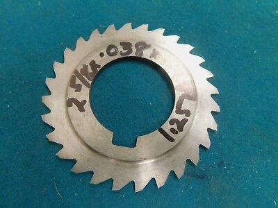 Usa 2.625 X .038 X 1.25 Hss Slitting Saw Milling Cutter