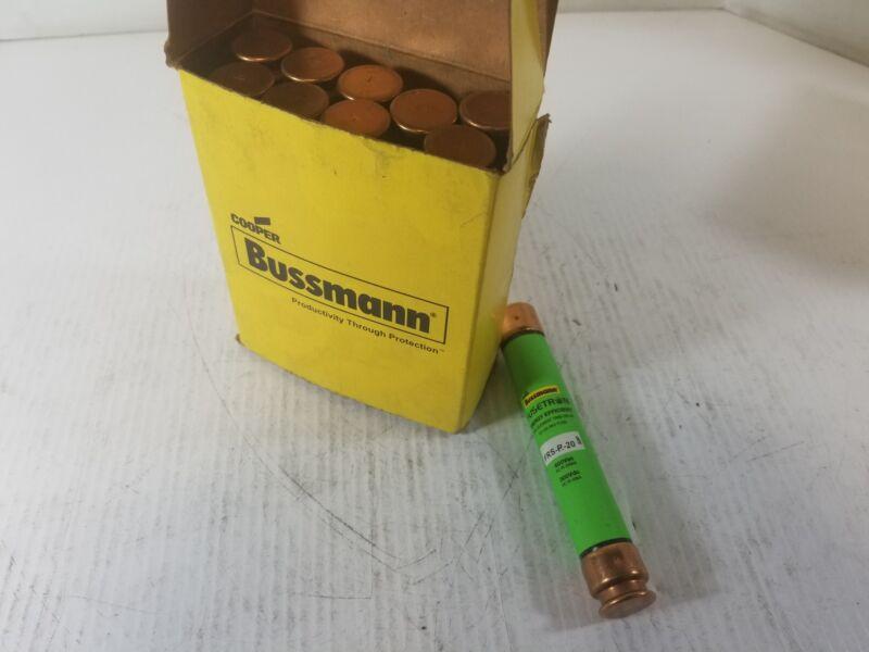 Bussmann FRS-R-20 Fusetron Cartridge Fuse 20A (Lot of 10)
