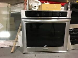 New kitchen aid oven