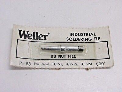 Weller Soldering Iron Broad Tip Pt-b8 For Model Tcp-1 Tcp-12 Tcp-24 800