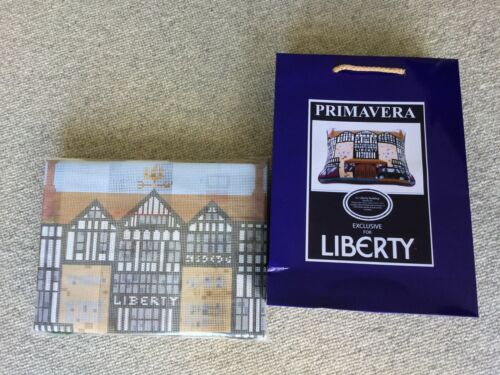 Brand New Primavera tapestry kit - the iconic Liberty Building, London