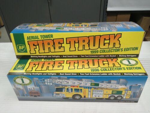 BP 1996 Aerial Fire Truck #1 in Series-Mint in Box