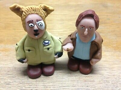 """2.5/"""" Mr Humphries Figurine Mini Figure Clay Cake Topper Are You Being Served"""
