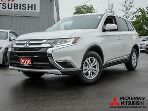 2016 MITSUBISHI OUTLANDER ES AWC AWC/BLUETOOTH/HEATEDSEATS