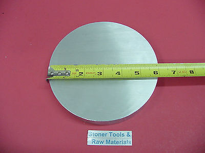 6 Aluminum 6061 Round Rod 1.5 Long T6511 6.00 Diameter Solid Lathe Bar Stock