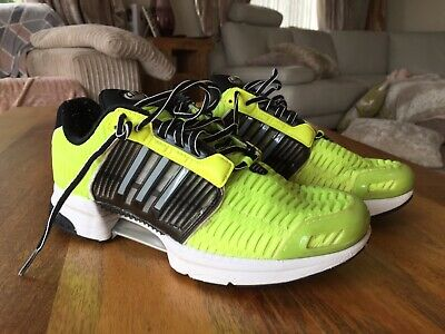 Adidas Climacool Trainers Gym Bodybuilding Muscle Weights Running Uk 9 Yellow