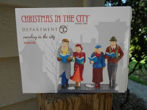 DEPT 56 CHRISTMAS IN THE CITY Accessory CAROLING IN THE CITY NIB