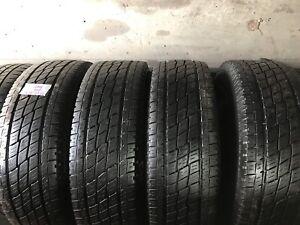4 pneus été LT245/75R16