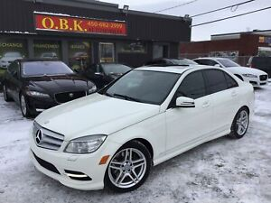 2011 Mercedes-Benz C-Class C300 4MATIC-TOI OUVRANT-CUIR-BLUETOOT