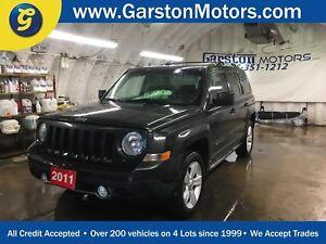 2011 Jeep Patriot LIMITED*NAVIGATION*LEATHER*POWER SUNROOF*4WD*H